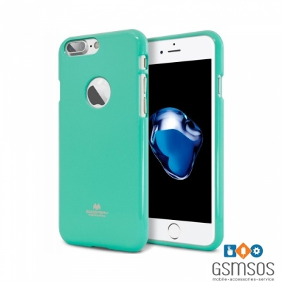 goospery-jelly-case-pearl-for-iphone-7-8-plus-mint